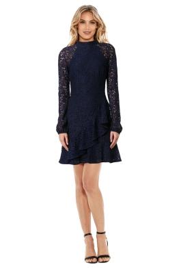 Rebecca Vallance - Dolce Vita Frill Mini Dress - Front