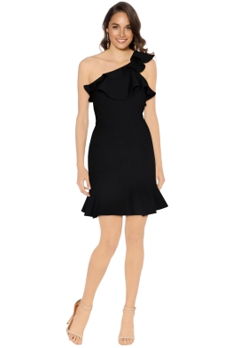 Rebecca Vallance - St Barts Mini Dress - Black - Front