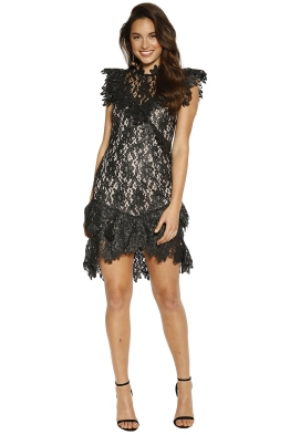 Saylor - Mollie Dress - Black - Front
