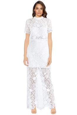 Self Portrait - Marcela Bridal Dress - White - Front