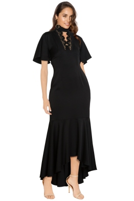 Shoshanna - Darnawa Gown - Black - Side