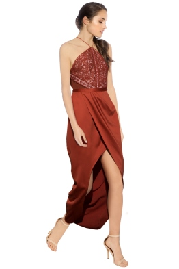 Stylestalker - Laylor Maxi Dress - Front - Red