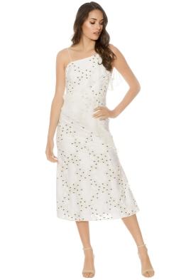 Talulah - Associates Midi Dress - White - Front