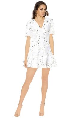 Talulah - Associates Mini Dress - White - Front
