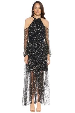 Talulah - Combinations Maxi Dress - Black Print - Front