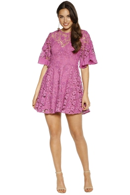 Talulah - Estee Mini Dress - Pink - Front