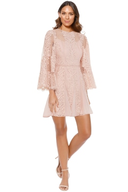 Talulah - Lust Over Dress - Pastel Pink - Front