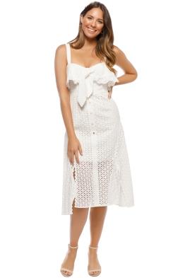 Talulah - Rapture Midi Dress - White - Front