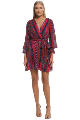 Talulah - Sugar and Spice L:S Mini Dress - Pink - Front