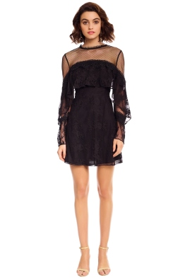 Talulah - True Chemistry Mini Dress - Black - Front