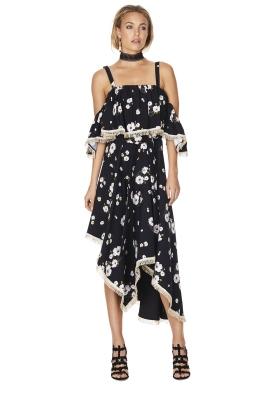 Talulah - Vintage Floral Dress - Front