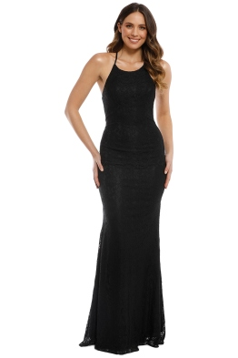 Tania Olsen - Sadie Gown - Black - Front