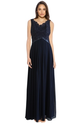 The Dress Shoppe - Share This Elegance Dress - Navy - Front