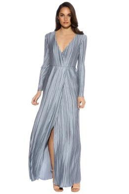 The Jetset Diaries - Primavera Maxi Dress - Powder Blue - Front