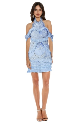 Thurley - Aphrodite Dress - Blue - Front