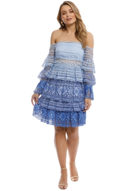 Thurley - Croatia Dress - Blue - Front
