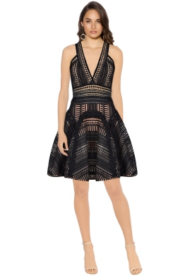 Thurley - Halley's Comet Dress - Black - Front