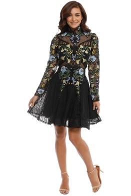 Thurley - Phoenix Dress - Black - Front