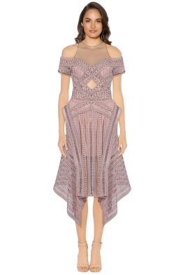Thurley - Sand Dune Dress - Nude - Front