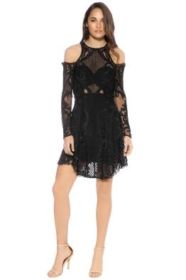 Thurley - Scarborough Fair Mini Dress - Black - Front