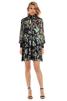 Thurley - Snap Dragon Print Dress - Front