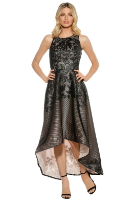 Tina Holy - Floral Lace Dress - Front