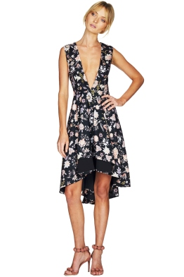 Talulah - The Lottie Floral Midi Dress - Front