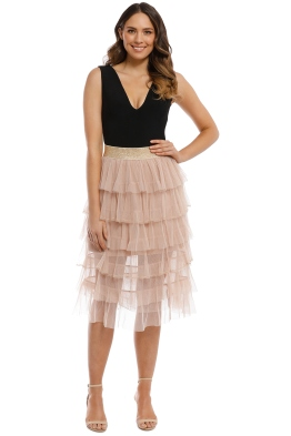 Trelise Cooper - Layer Upper Layer Skirt - Vintage Nude - Front