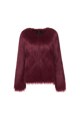 Unreal Fur - Unreal Dream Jacket - Burgundy - Front