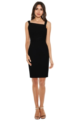 Versace Collection - Emboss Fitted Assym Dress - Front