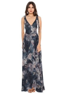 We Are Kindred - Alanah Bow Back Maxi - Front