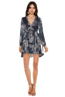 We Are Kindred - Alanah Frill Dress in Water Lily - Front