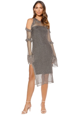 We Are Kindred - Annastasia Dress - Pewter - Front