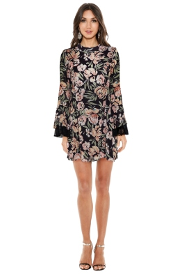 We Are Kindred - Jojo Frill Sleeve Dress - Front