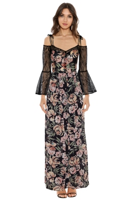 We Are Kindred - Jojo Lace Insert Dress - Front