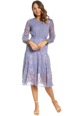 We Are Kindred - Luella Leaf Dress - Steele - Front