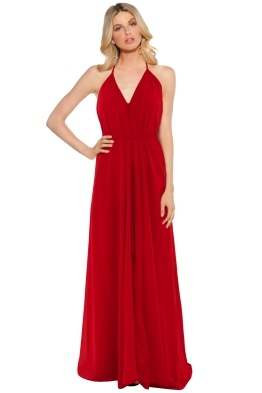 When Freddie Met Lilly - Xanadu Split Maxi - Red - Front