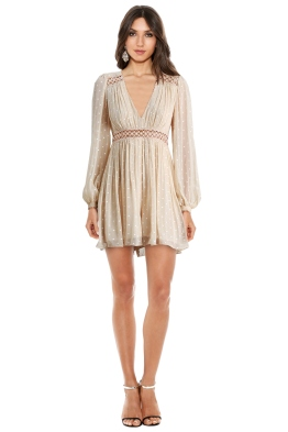 Zimmermann - Bowerbird Empire Playsuit - Front