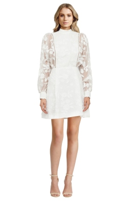 Zimmermann - Mischief Manor Dress - Pearl - Front