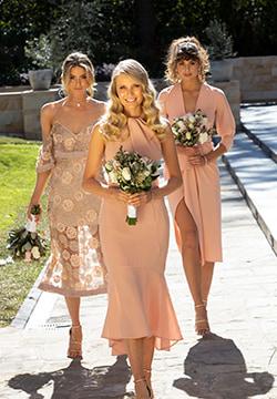 Bridesmaids Designer Dress Rental