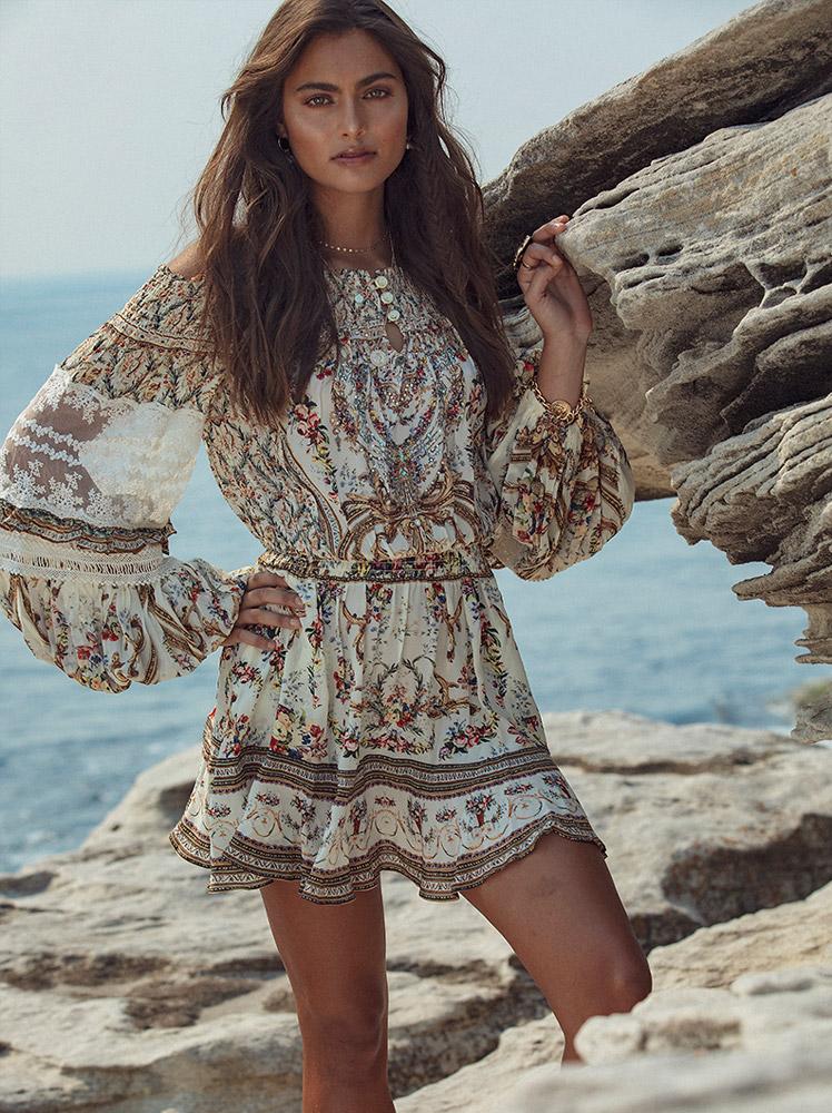 Camilla Designer Dress Rental