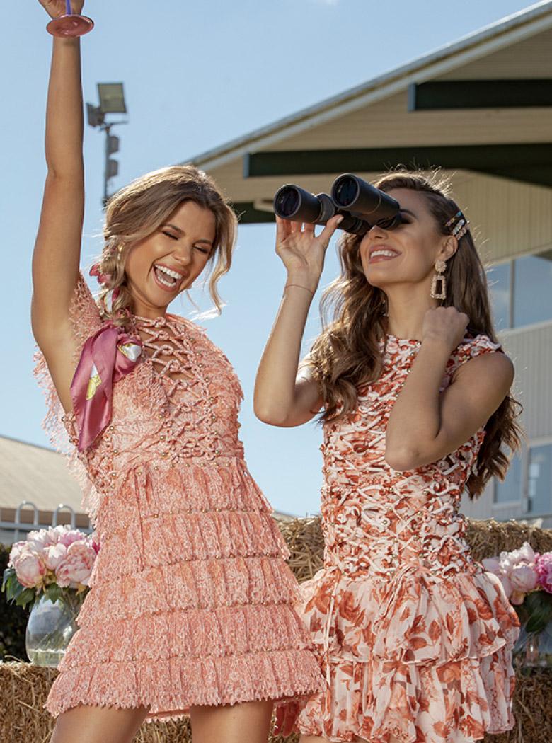 Oaks Day Designer Dress Rental