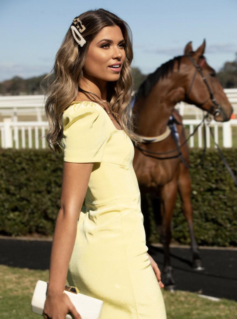 Stakes Day Designer Dress Rental