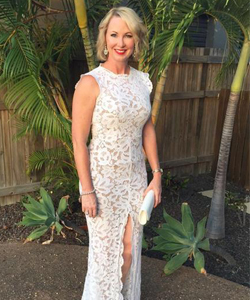 Dress Hire Townsville, Meg